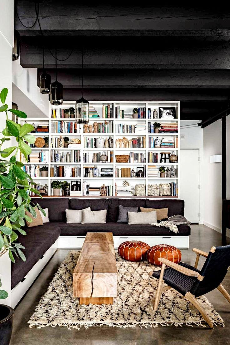 10 fotos de librer as para el sal n for Librerias en salones