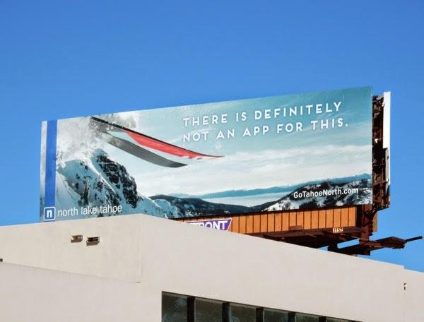 definitely not app for this Lake Tahoe skiing billboard