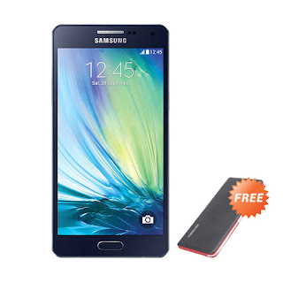 Samsung Galaxy A5 Black Smartphone + Powerbank 11.000 mAh