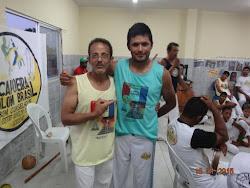 Meu grande Mestre de Capoeira