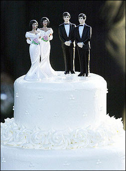 Most gay couples have been together longer than any married straight couple ...