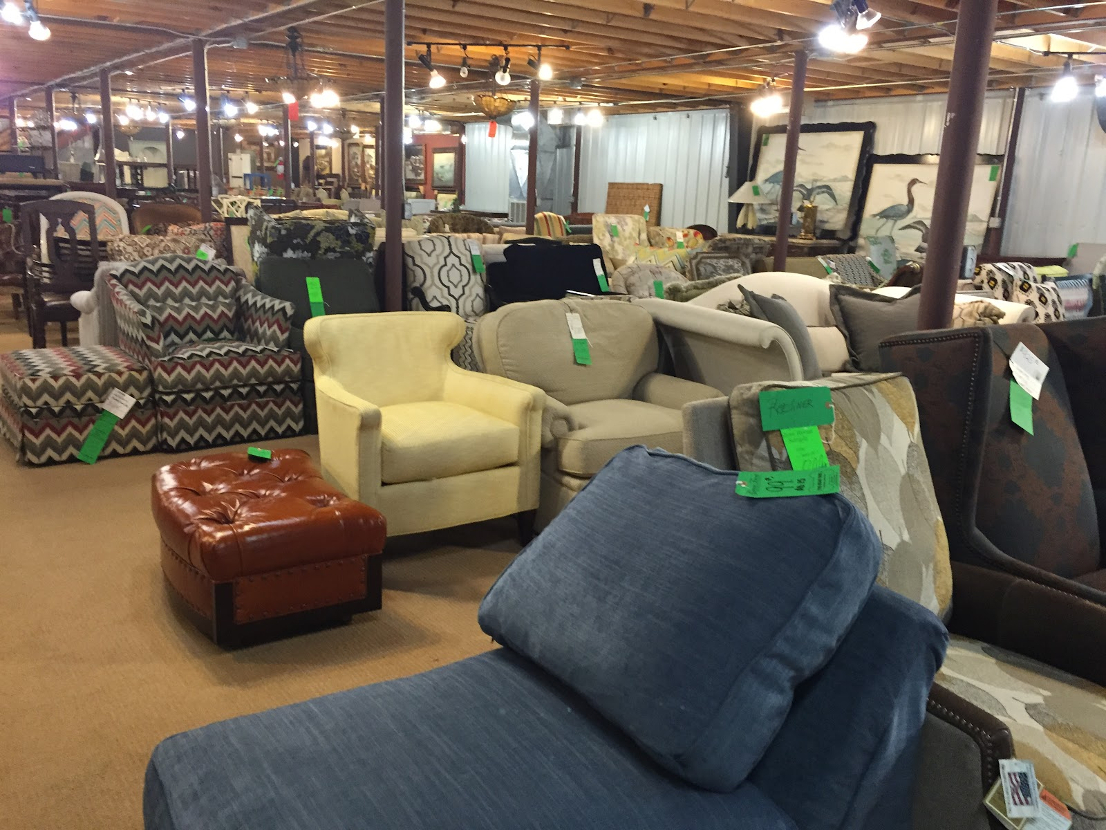 Shop Tour Green Front Furniture In Farmville Part 1