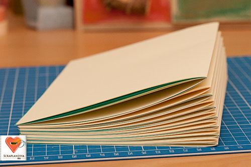 Как сделать переплет для блокнота своими руками
