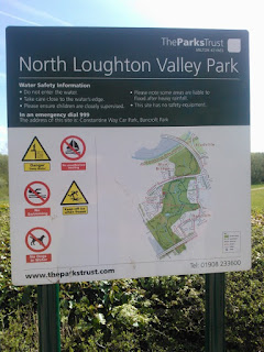 North Loughton Valley Park Sign