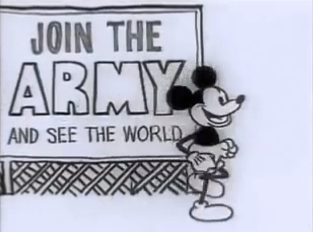 carl solway gallery a rare 1968 anti war short mickey mouse in