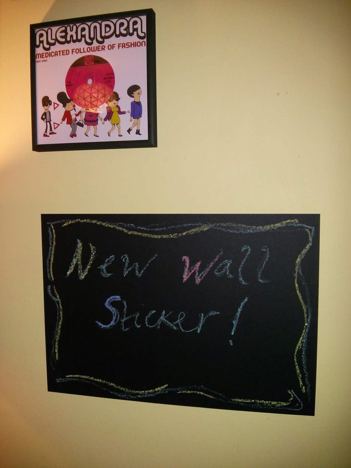 My Wall Stickers chalkboard A3 Sheet