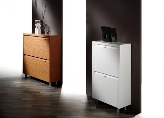 Muebles de dise o moderno y decoracion de interiores for Muebles para zapatos moderno