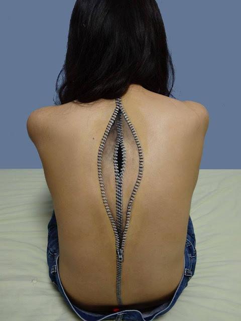 Tatto Tubuh yang Paling Keren yang Pernah di buat-10