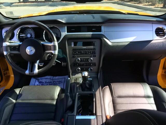 2011 Mustang GT Interior