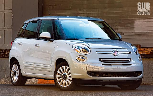 2014 Fiat 500L front quarter