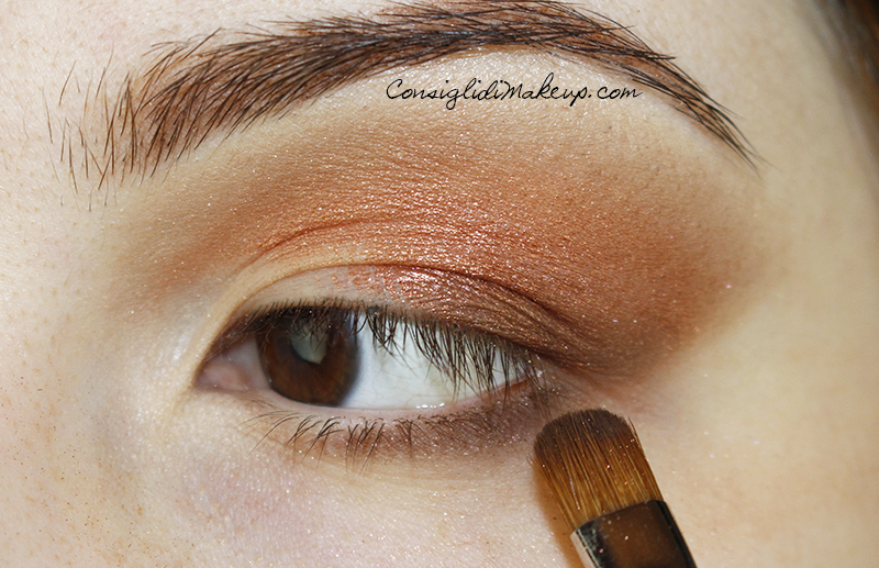 Make up occhi fenice duochrome neve cosmetics
