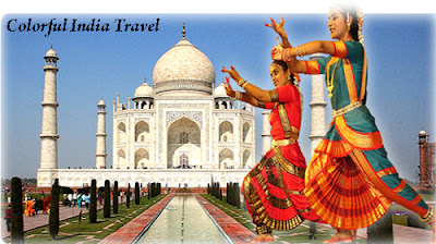 Various Shades and Hues of Colorful Bright India Travel