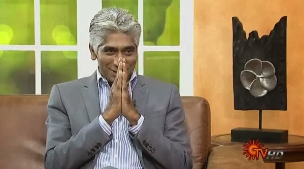 Virundhinar Pakkam – Hollywood Producer Ashok Amirtharaj – Sun TV Show 08-10-2013