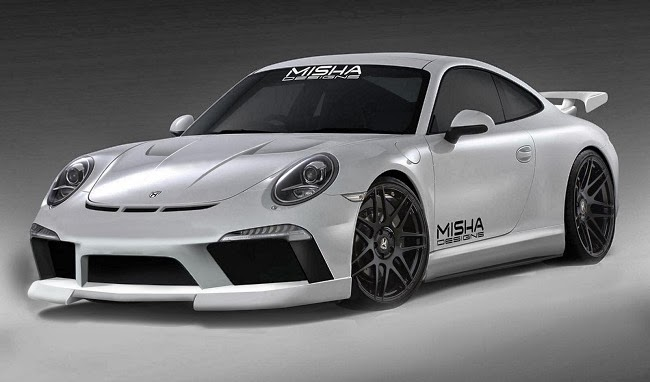 Porsche 991 body kit by Misha Designs