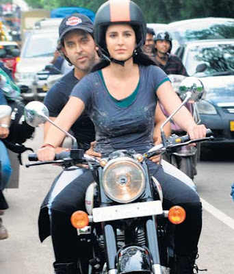 katrina kaif bike ride