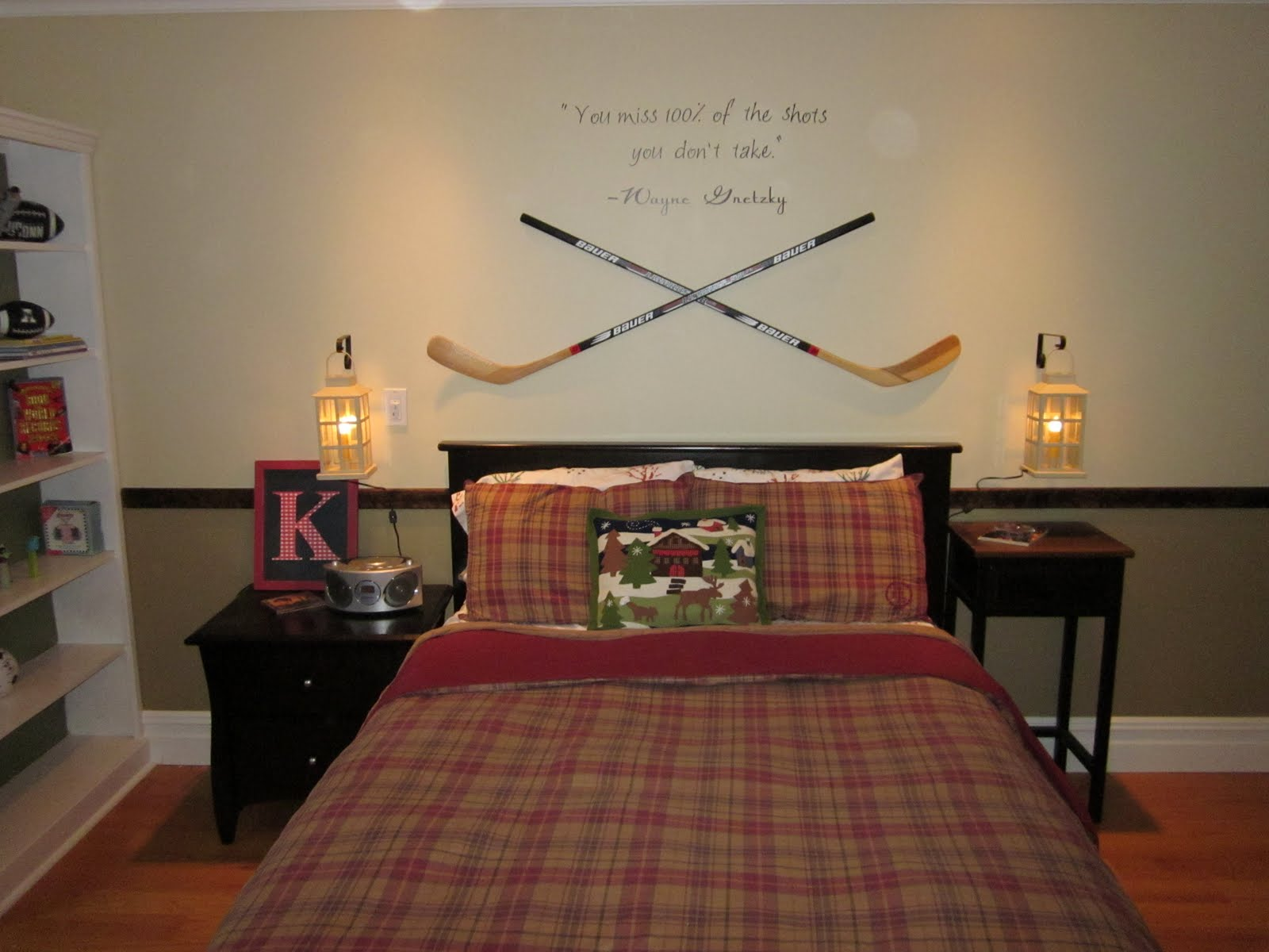 1000 images about hockey bedroom ideas on pinterest hockey room ideas design dazzle