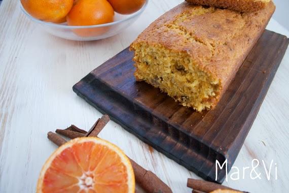 Ricetta di plumcake rustico di carote e arancia