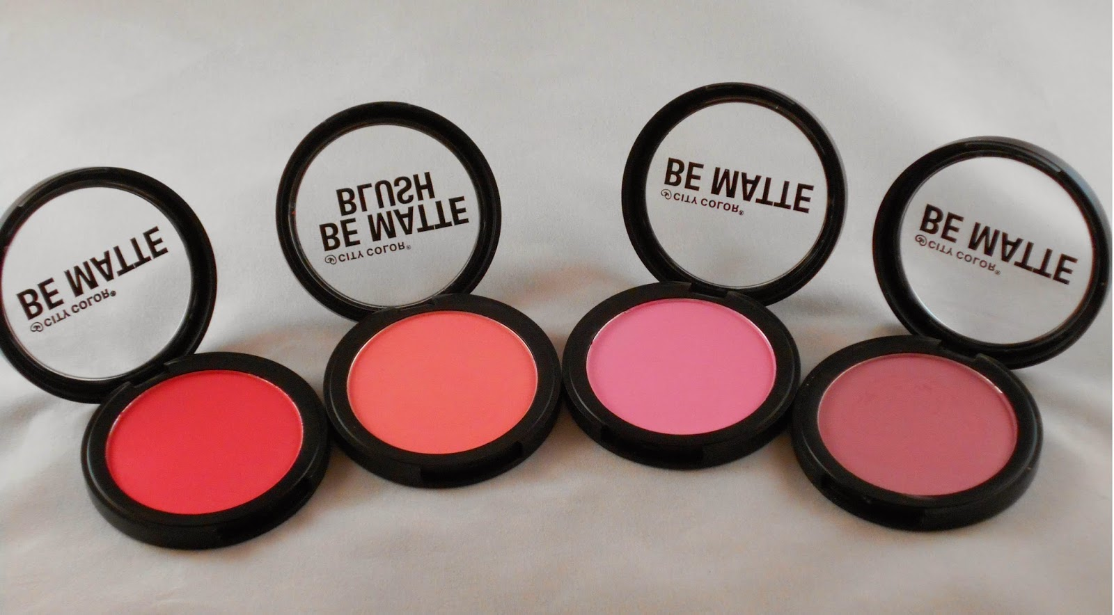 City Color Cosmetics Be Matte Blush