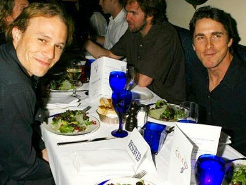 64 Historical Pictures you most likely haven't seen before. # 8 is a bit disturbing! - Heath Ledger and Christian Bale