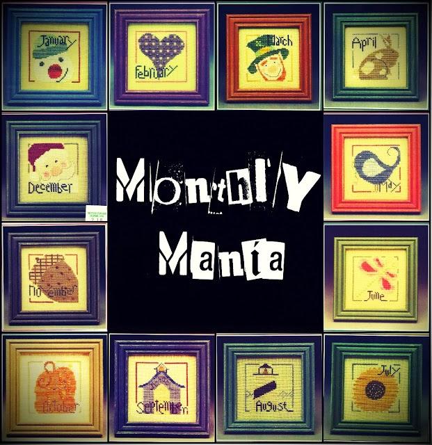 SAL Monthly Mania. Вышиваем календарь вместе!