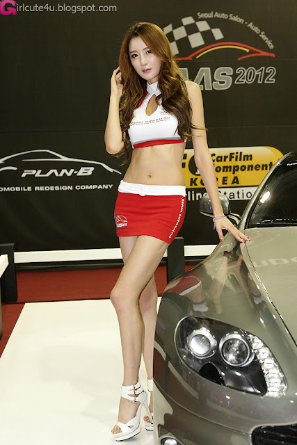 4 Eun Bin Yang - Seoul Auto Salon 2012-Very cute asian girl - girlcute4u.blogspot.com