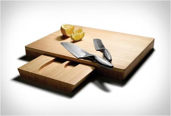 simply balanced design pinzon santoku knives and bamboo cutting, Kitchen design