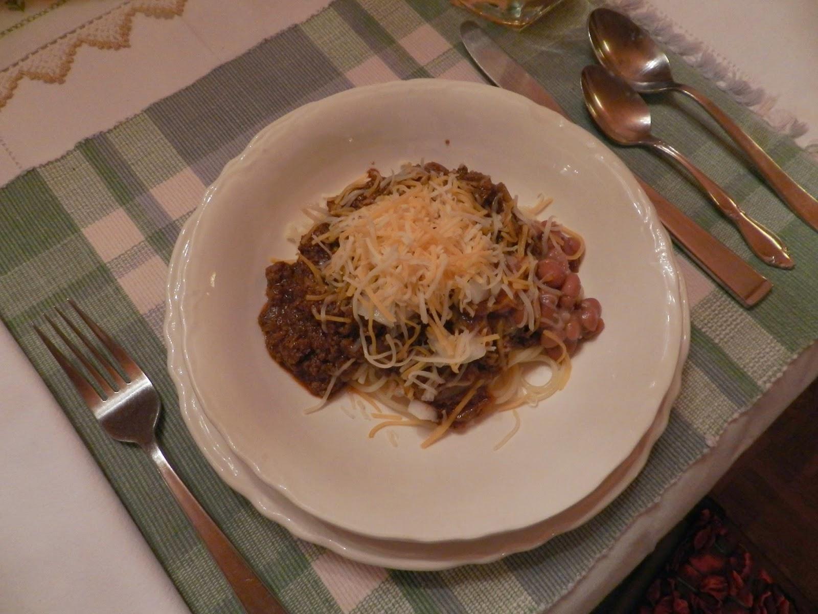 recipe: cincinnati chili (5-way)