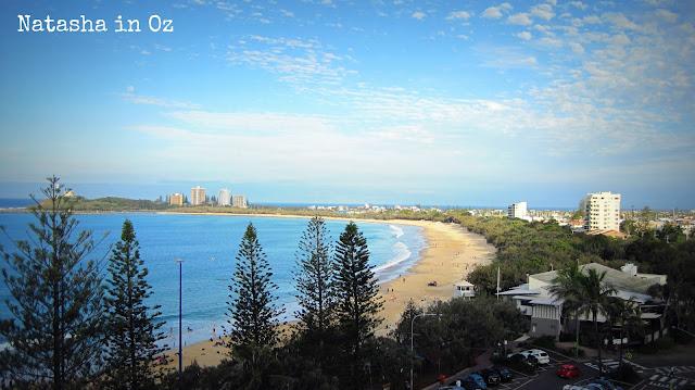 Say G'Day Linky Party, Beach Therapy, Natasha in Oz, Mooloolaba, beach image