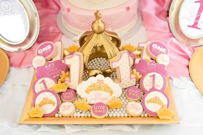 Princesa Rosa {dia de festa} - comida / reprodução internet