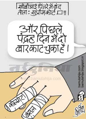 CBI, coalgate scam, pawan kumar bansal cartoon, congress cartoon, upa government, indian political cartoon