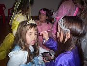 Y algunos ejemplos de maquillaje para niños: Próximamente más fotos. perro