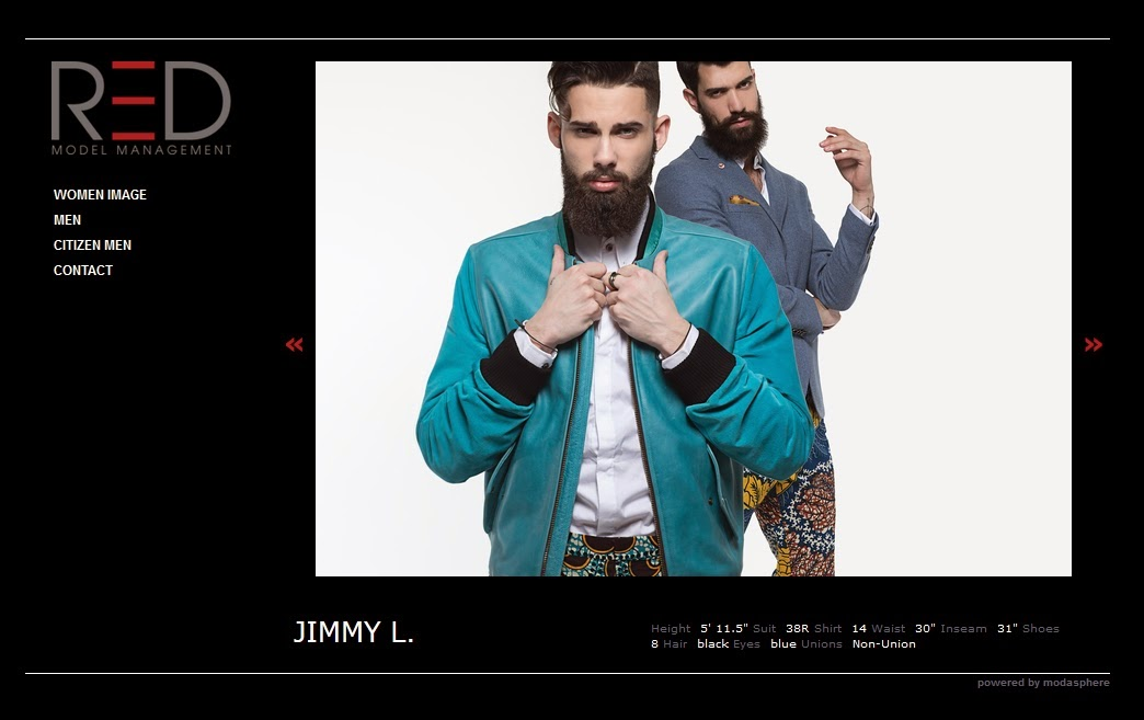 Jimmy L @ RED Model Management New York