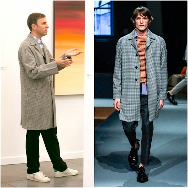 Raf Simons in Prada - Frieze Art Fair New York