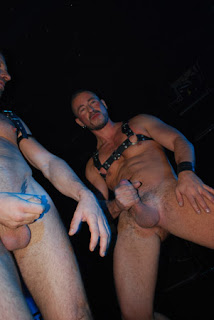 Gay Strippers Show Their Wang To A Crowd