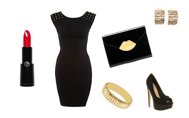 Little Black Dress - 3 ways to style it - Night Out Outfit - House of Fraser