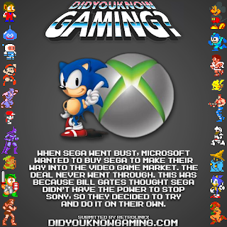 microsoft sega fact Random Game Facts   Microsoft & Sega