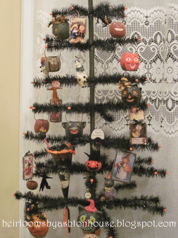 it took several years to accumulate enough halloween decorations for my tree which is 3 feet tall and this year i didnt buy anything for it - Halloween Tree Ornaments