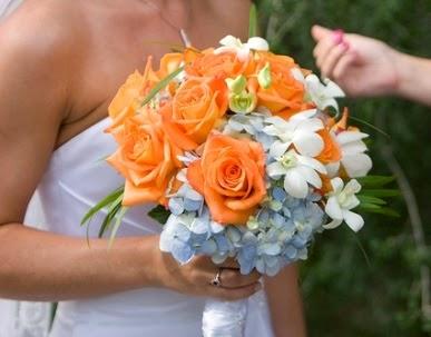 Ramos y Bouquets de Novia Naranja, parte 7