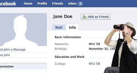 how to find your facebook stalker