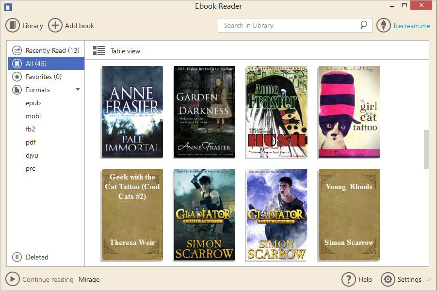 Icecream Ebook Reader PRO 2 Full