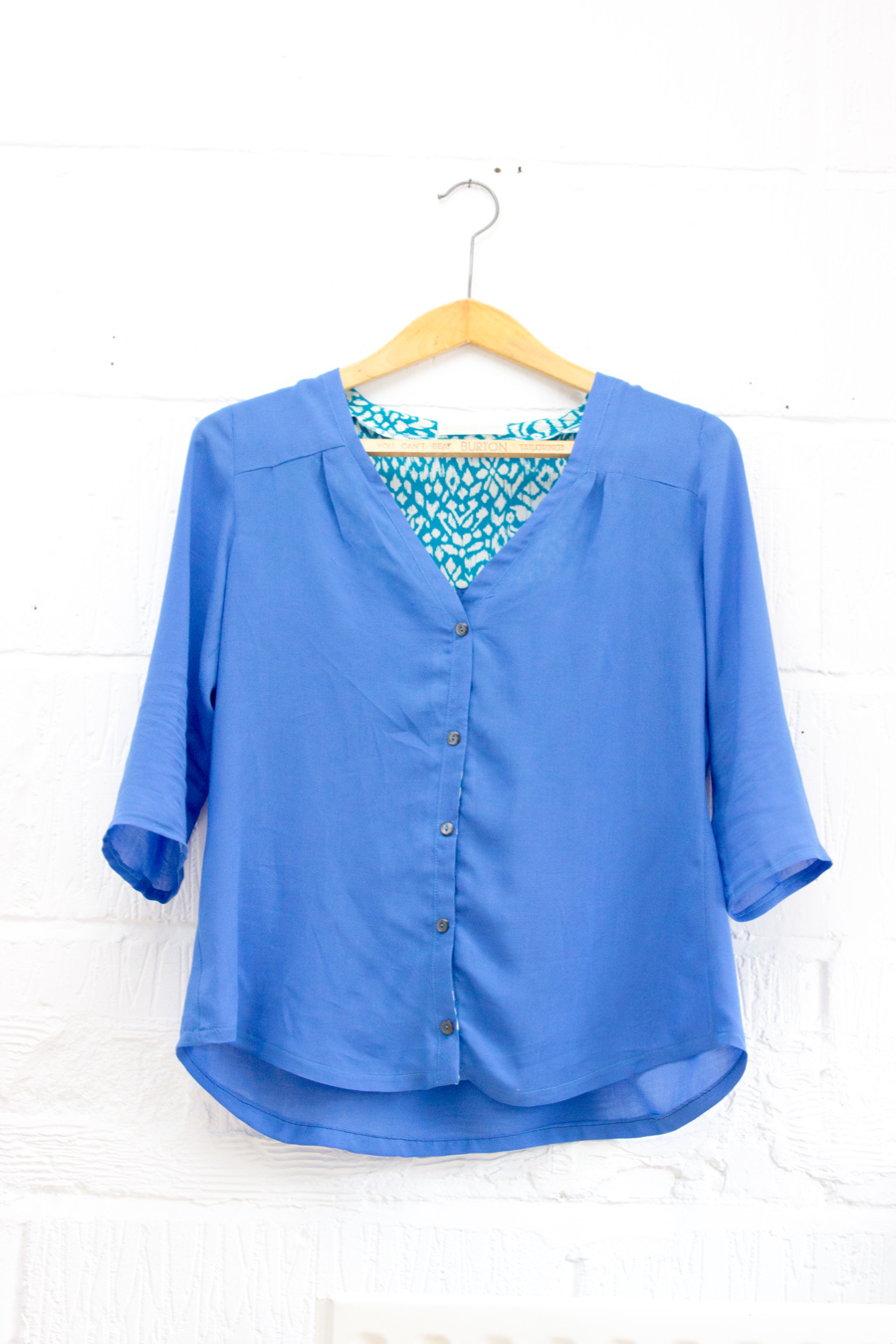 Thread Theory camas blouse Indiesew blogger network