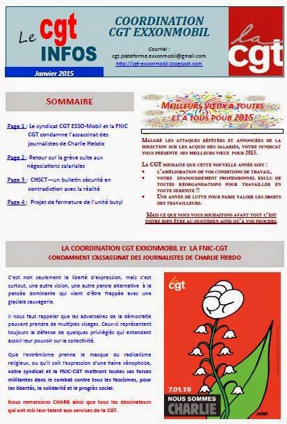 CGT INFOS JANVIER 2015