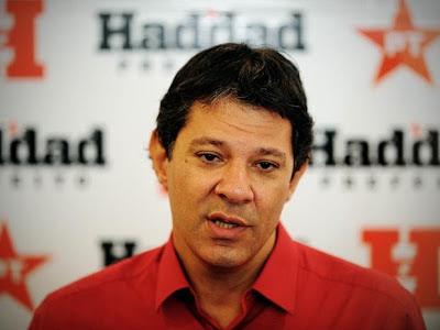 """""""Fernando Haddad tem tudo para ser presidente da República"""" marqueteiro do PT"""