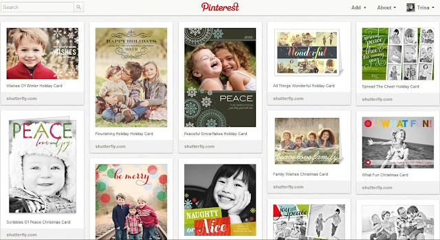 shutterfly holiday photo inspiration pinterest board