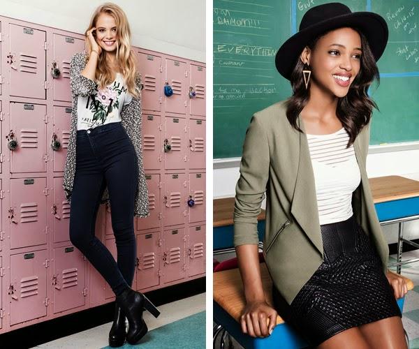 H&M Divided ropa para primavera catálogo Belleza Boho