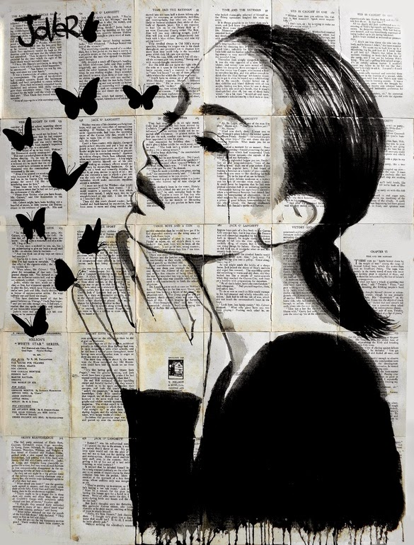 19-Inspiration-Loui-Jover-Drawings-on-Book-Pages-www-designstack-co
