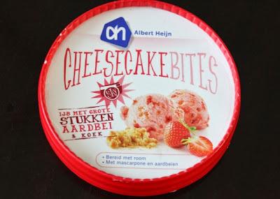 Albert Heijn cheesecake bites
