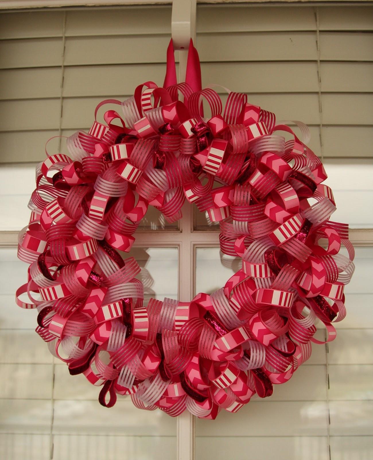 Living My Charmed Life Ribbon Wreath Tutorial