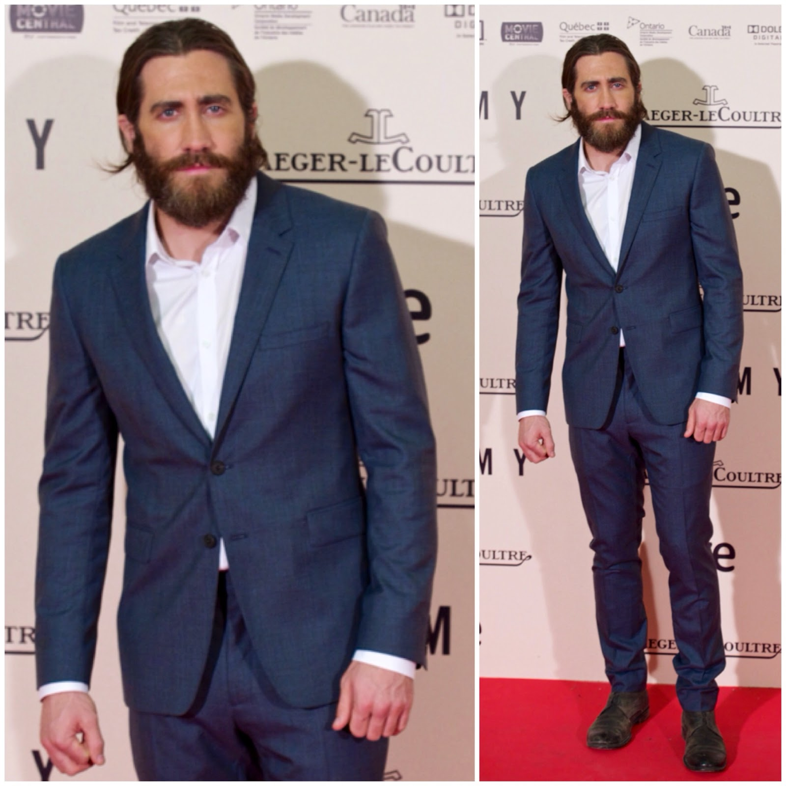 Jake Gyllenhaal in Burberry - 'Enemy' Madrid Premiere