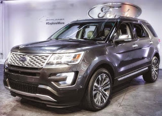 Ford Explorer 2016 Release Date